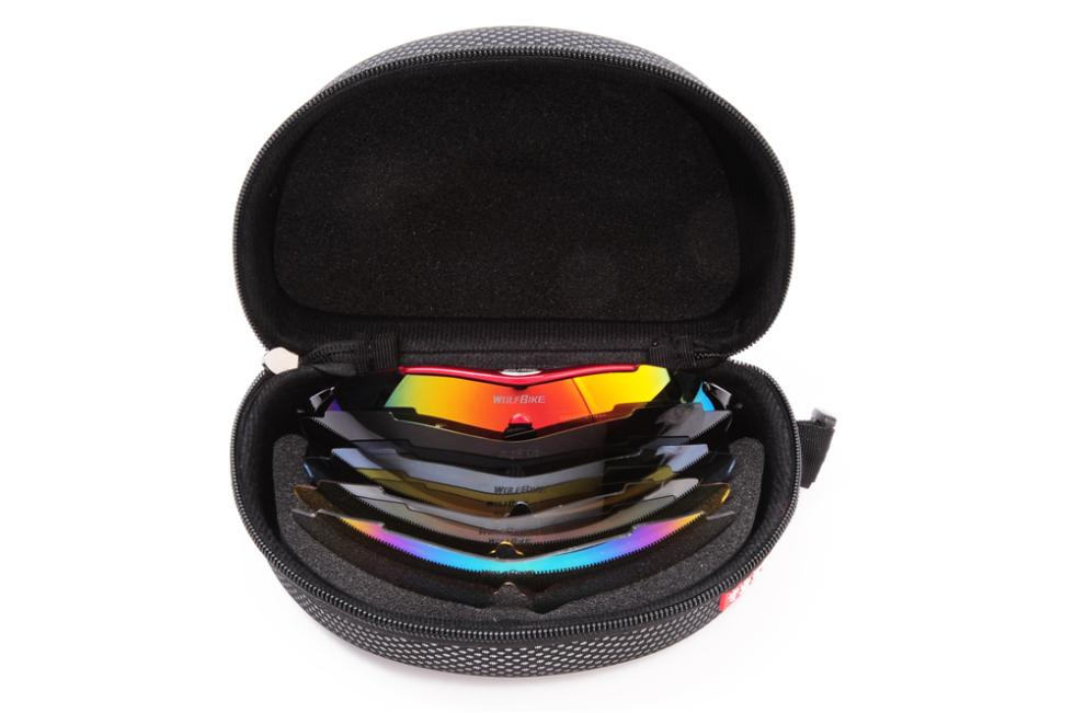polarized ski goggles jmtd  WOSAWE Polarized 5 Lens Cycling Eyewear Sun Glasses Mens Sports Bicycle  Glasses Bike Sunglasses Driving Skiing