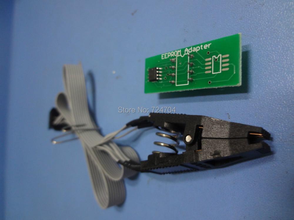 eeprom adapter SOIC8 SOP8 Test Clip EEPROM 93CXX / 25CXX 24CXX in-circuit programming - goodsok store