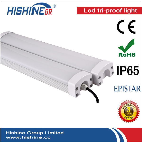 (12pcs/lot)Hot Selling 40w Led Triproof Light IP65 AC85-265V For Garage Warehouse Cooler Room Lighting With 3 Years Warranty(China (Mainland))