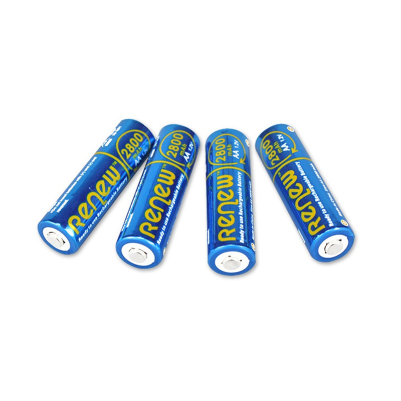 4pcs/lot High Power 1.2V AA 2800mAh NI-MH Rechargeable Battery For Measurement Tool Home Appliances Remote Controller(China (Mainland))
