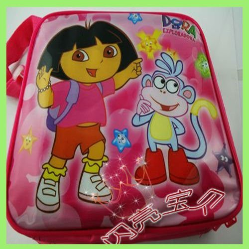 Free shipping wholesale 40pcs Mix order Cartoon lunch box bag set for kids 0806100