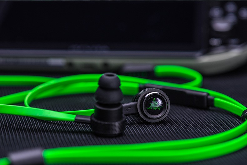 2016 New Razer Hammerhead V2 Pro Earphone With Microphone In Ear Gaming Headsets Noise Isolation Stereo dota2 LOL etc