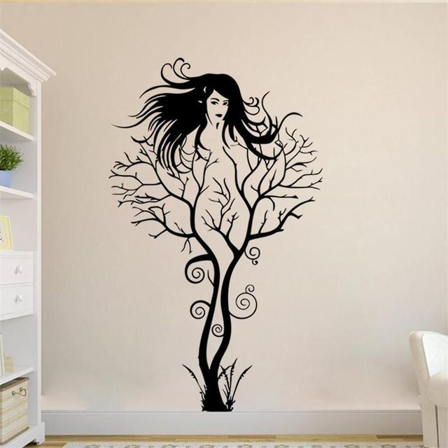 slaapkamer decoratie boom ~ lactate for ., Deco ideeën