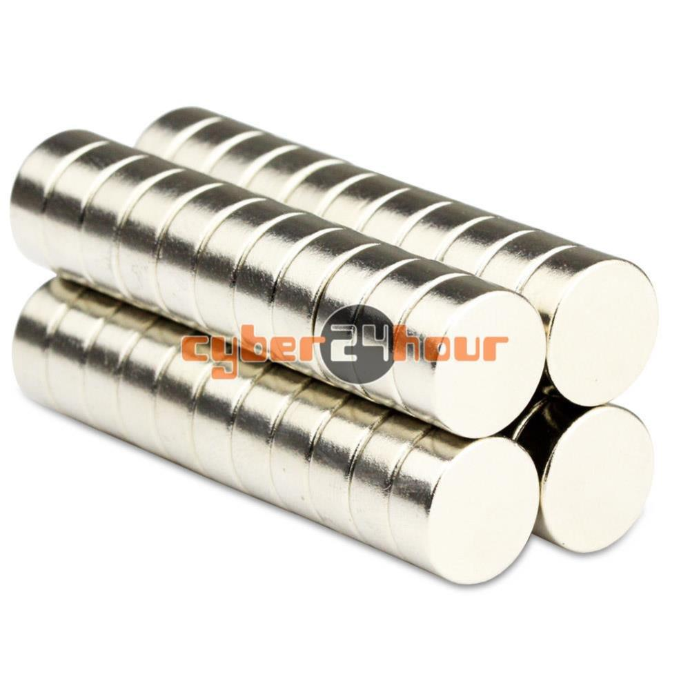Гаджет  10pcs 12mm x 6mm N50 Grade Small Disc Round Cylinder Rare Earth Neodymium Magnets free shipping None Строительство и Недвижимость
