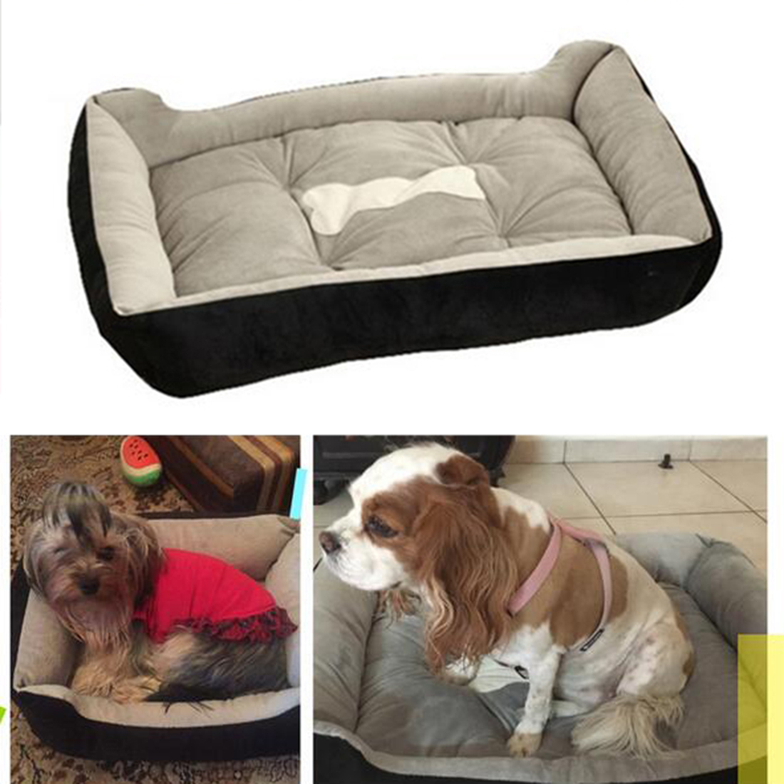 2016 new styal 6 size home pet comfortable sofa dog bed Dog house sofa