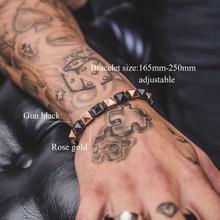 Bransoletka mężczyzn spinki do mankietów bransoletki/bransoletka/koraliki/czaszka/urok/chain link/hologram/wrap /strand/bransoletki i bransolety kobiet(China)
