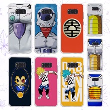 Buy vegeta body armor bejita dragon ball z design hard White Case Samsung Galaxy S8 Plus S8 s6 s7 edge s4 s5 mini note 5 4 for $1.91 in AliExpress store