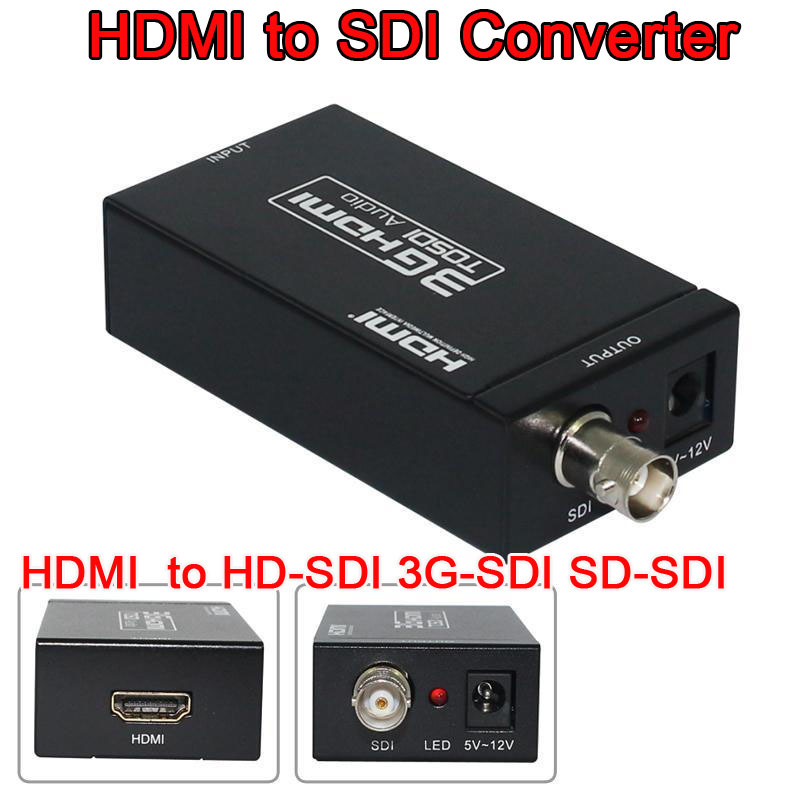 Mini 3G 1080P HDMI SDI SD-SDI HD-SDI 3G-SDI HD Video Converter power adapter retail package - BOAS store