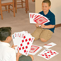 Oversized Spuer Deck Card Poker Cards Tricks Big Huge Large A4 Paper Size Nine Times Than