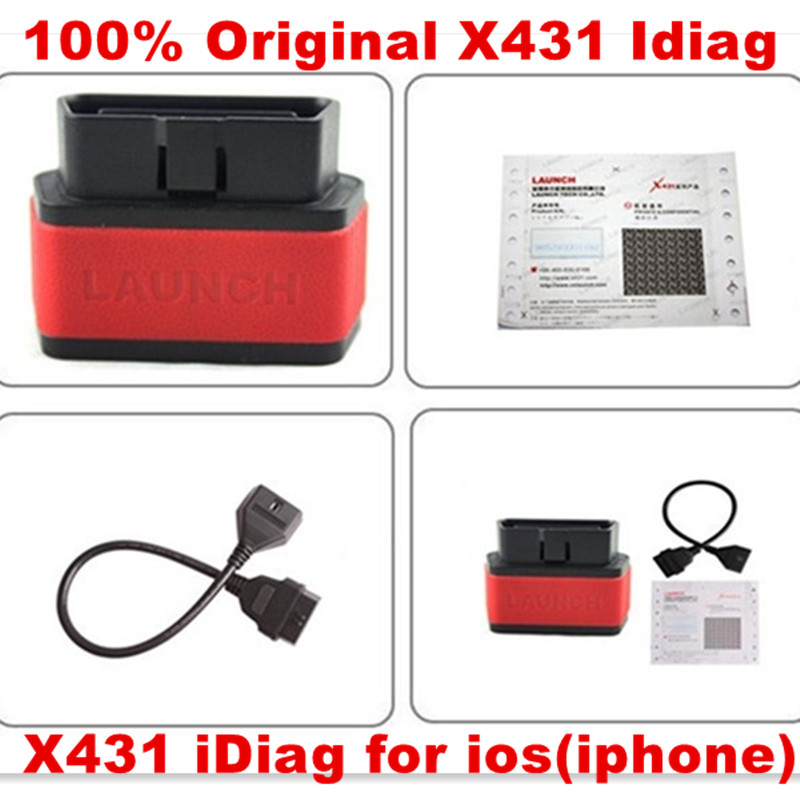 2015 Top Rated DHL Free Shipping Launch X431 iDiag Auto Diag Scanner for IOS idiag(wholesale/retail)(China (Mainland))