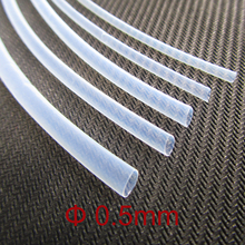 Buy 1M 600V 0.5mm Diameter 1.7:1 Ratio Clear Transparent Insulation PTFE F4 Teflon Hot Heat Shrinkable Tubing Shrink Tube for $6.05 in AliExpress store