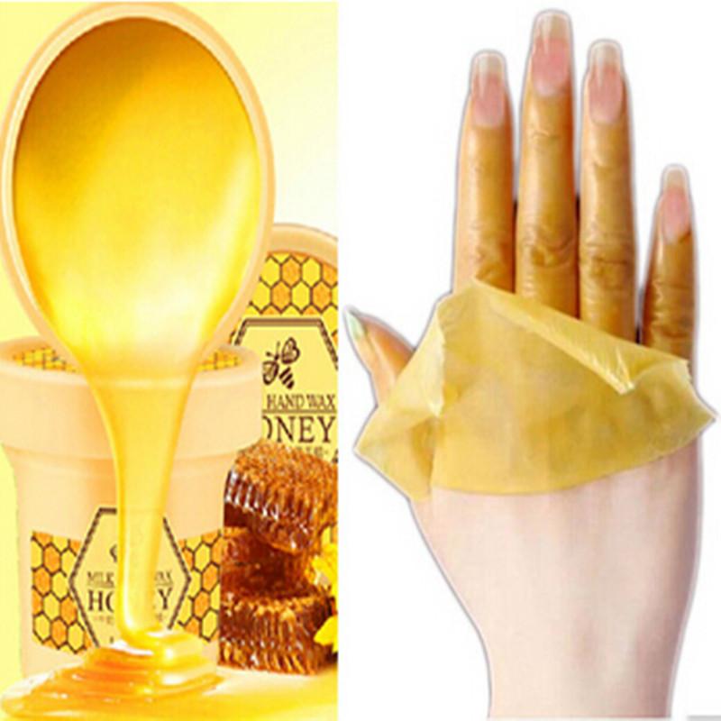 Hand Wax Treatment Hands Whitening Mask Skin Care Remove Dead Skin Peeling Exfoliator Baby Hand Mask Spa Moisturizing(China (Mainland))