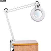 New Magnifying Desk Table Handheld Lamp With Magnifier 110V 22W Lighting and US plug Charger Free Shipping us6