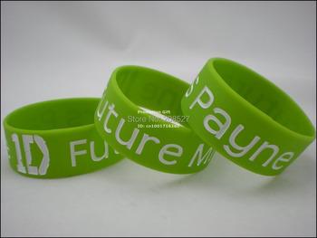 "1D One Direction Future Mrs Payne Wristband Bracelet, 1"" Wide Band, Personalized Silicone Bracelets, 50pcs/Lot, Free Shipping"