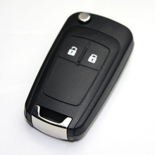 NEW Key Shell for OPEL VAUXHALL Insignia Astra Flip Remote Key Case Replacement 2 BN