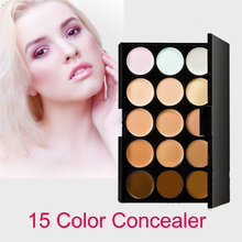 HOT!!! 15 Colors Professional Salon/Party Contour Face Cream Makeup Concealer Palette/High Quality(China (Mainland))