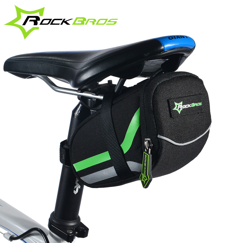 RockBros Bicycle Bag 2016 Anti-scratch MTB Mountain Road Bike Bag Reflective Cycling Rear Seat Saddle Bag Bycicle Accessories(China (Mainland))