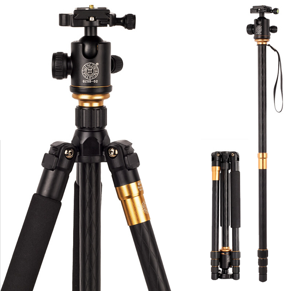 Hot Q999 Professional Photographic Portable Tripod To Monopod+Ball Head For Digital SLR DSLR Camera Fold 43cm Max Loading 15Kg(China (Mainland))