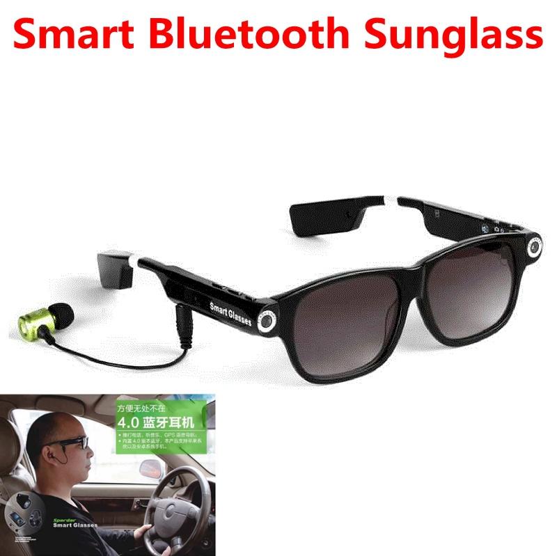 2016 New Design V6 Wireless Bluetooth Smart Sunglasses Sport Driving Wearable El