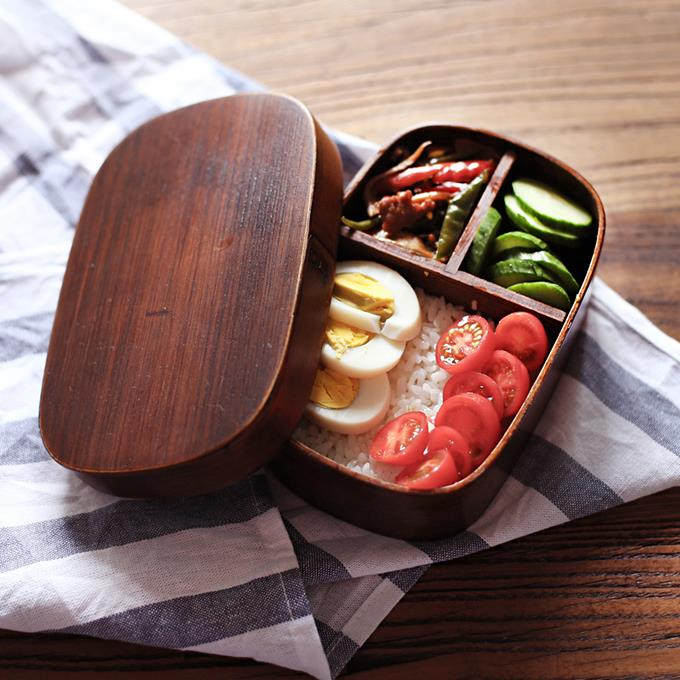 japanese bento boxes wood lunch box handmade natural wooden sushi box tableware bowl 2j122 in. Black Bedroom Furniture Sets. Home Design Ideas