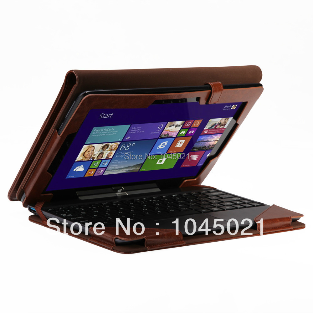Гаджет   For Asus Transformer Book T100TA T100 Leather Keyboard Portfolio Stand Case Cover  None Компьютер & сеть