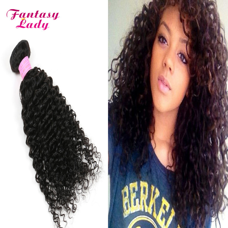 7A Fantasy Lady Hair Products Mongolian Kinky Curly Hair Extensions 4pcs Afro Kinky Curly Virgin Human Hair Weave Natural Black<br><br>Aliexpress