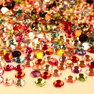 Free shipping 10000 Qty / pack 58 kinds of colors and sizes 3mm rhinestone wholesale / new 2013 DIY special rhinestones