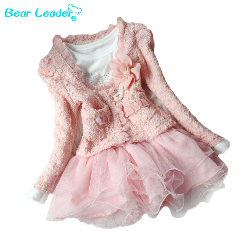 Beautiful Girls Casual Jackets Cardigan and Dimante Dress Tutu baby kids coat+dress gril dress 2015 New children clothing(China (Mainland))