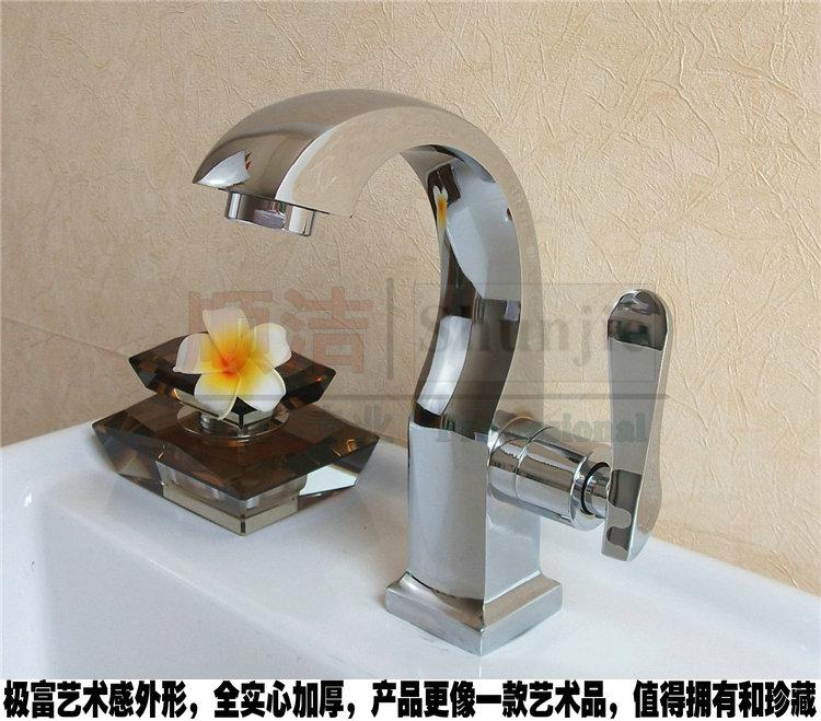 Купить Высокое качество одной холодной воды на бортике лебедь смеситель