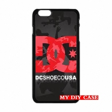 accessories Pouches Red DC Shoes Logo For Samsung Galaxy Note 2 3 4 iPod 4 5 HTC M7 M8 iPhone SE 4 4S 5S 5 5C 6 6S Plus