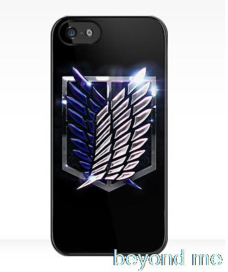 Attack on Titan Scouting Legion Cover case for iphone 4 4s 5 5s 5c 6 6s