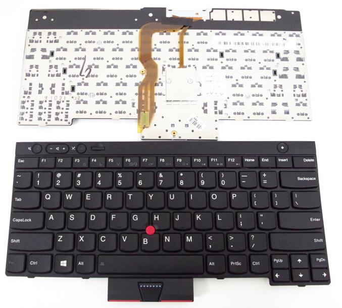 100% New Keyboard FOR LENOVO FOR IBM T430 L430 W530 T430I T430S X230I X230 T530I US laptop keyboard(China (Mainland))