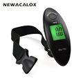 NEWACALOX 40kg x 100g Mini Digital Scale for Fishing Luggage Travel Weighting Steelyard LCD Hanging Electronic