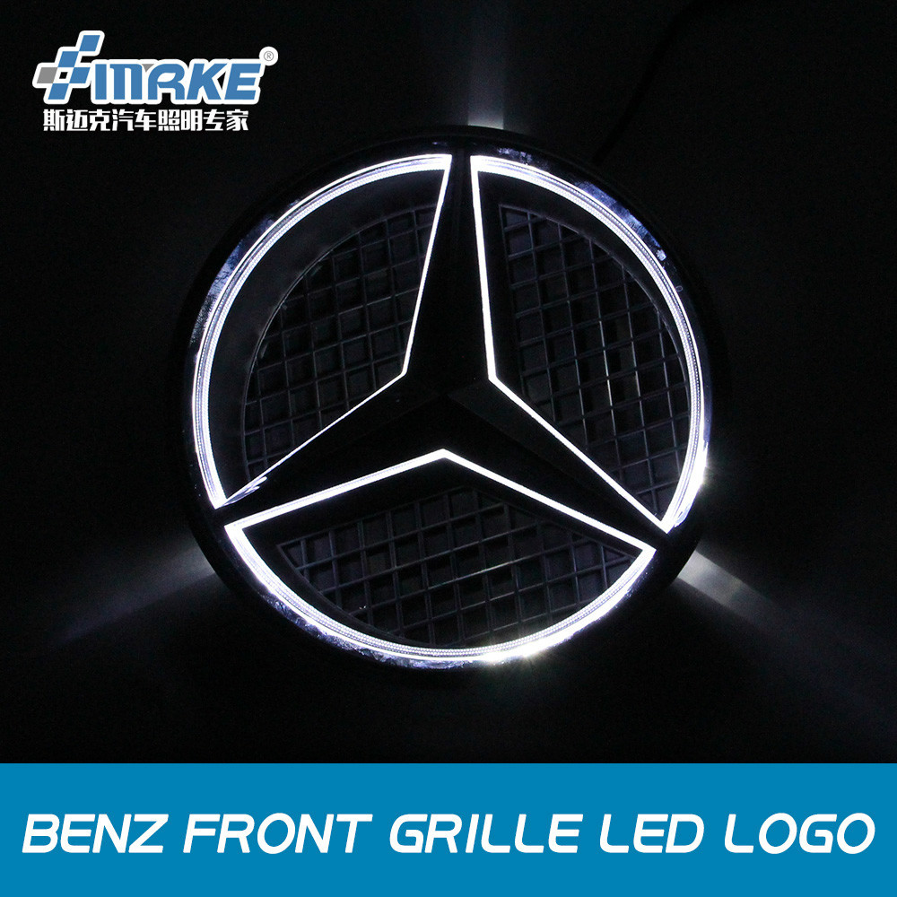 Mercedes front grill reviews online shopping reviews on for Mercedes benz front emblem