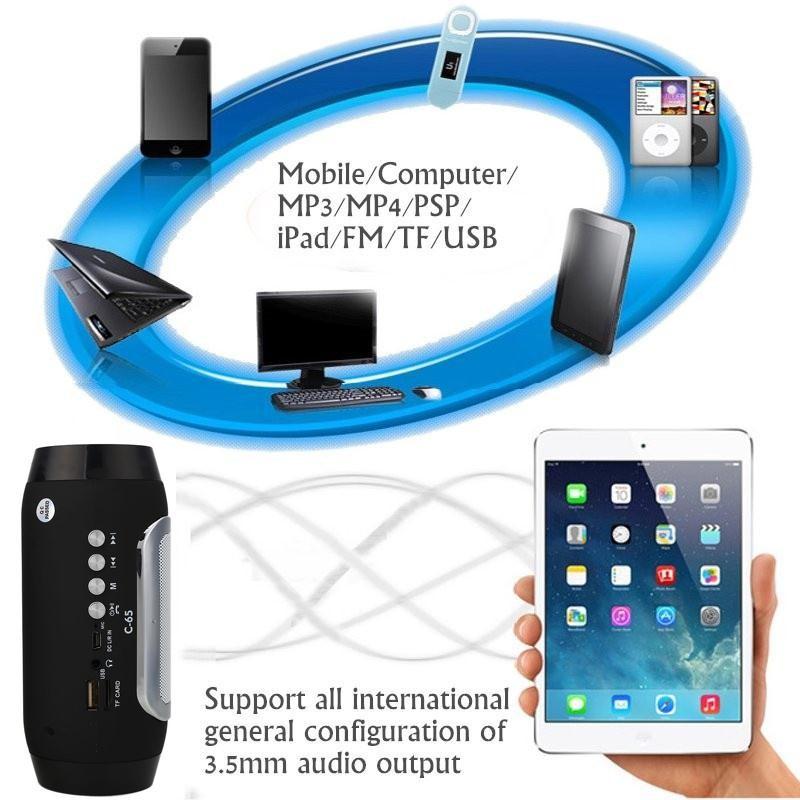 ถูก เกราะบลูทูธลำโพงPassiveลำโพงแบบพกพากันน้ำกลางแจ้งลำโพงMP3สำรองสำหรับiPhoneสำหรับซัมซุงฯลฯ