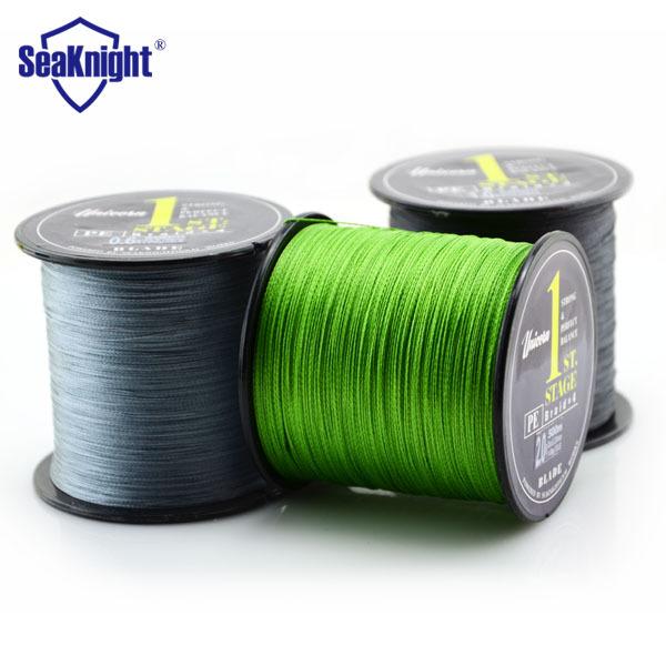 500M SeaKnight Tri-poseidon Brand PE Multifilament Braided Fishing Line 4 Strands Carp Fishing Spearfishing Rope Cord(China (Mainland))
