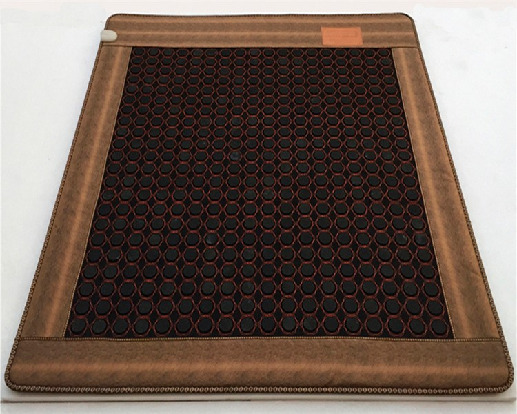 High Quality Made in China Magnetic Jade Bed Mattress With Heat Germanium Stone Heated Mat Negative Ion Mattress 1.0X1.9M