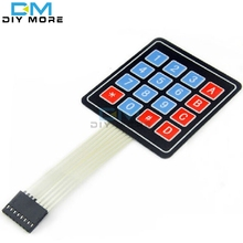 Buy 4 * 4 Matrix Array/Matrix Keyboard 16 Key Membrane Switch Keypad arduino 4X4 Matrix Keyboard for $1.00 in AliExpress store