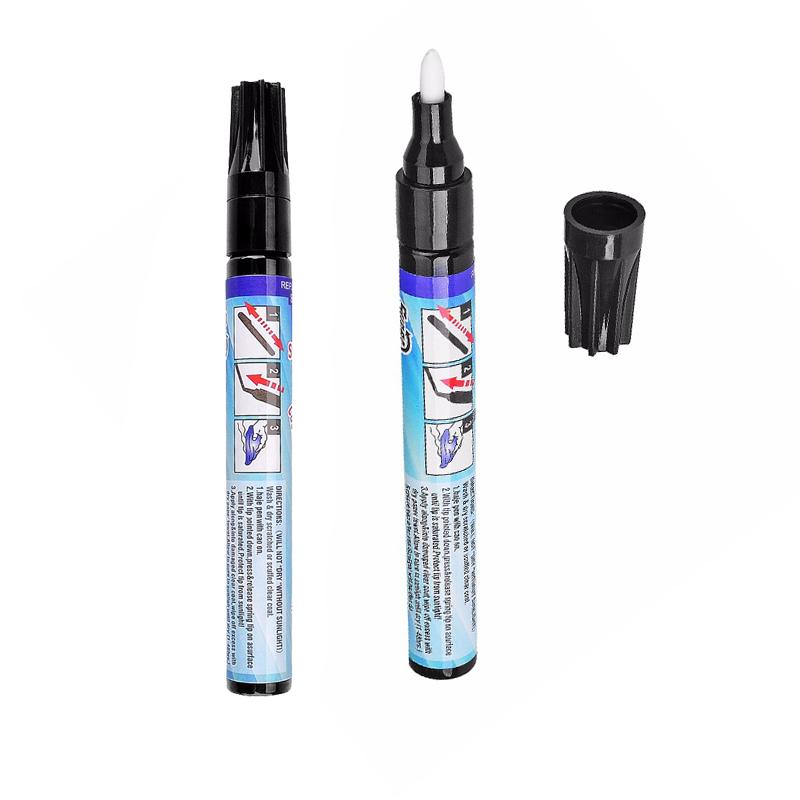 2pcs Auto Tools Clear Coat Scratch Repair Filler Sealer Painting Pen Magic Permanent Water Resistant Scratch Pen Ferramentas(China (Mainland))