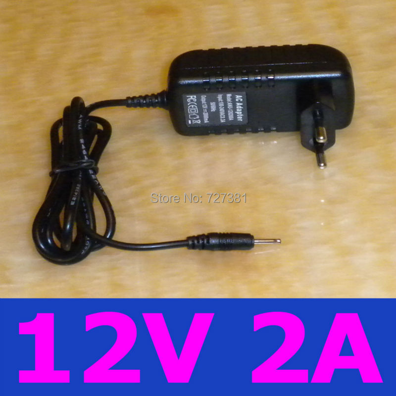 EU Tablet PC Charger 12V 2A 2000ma 2.5mm 0.7mm Europe plug Cube U30GT Cube U9GT2 U9GT5 U30GT2 Chuwi V9 W22pro N90FHD(China (Mainland))