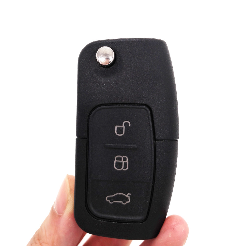 Brand New 433MHZ Keyless Entry Folding Flip Remote Key 3 Buttons For FORD Focus Mondeo Fiesta C Max S Max Galaxy Kuga(China (Mainland))