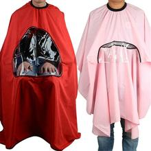 New Salon Barbers Hairdressing Cape Gown Hair Cutting Clothes Viewing Window Hot PY8