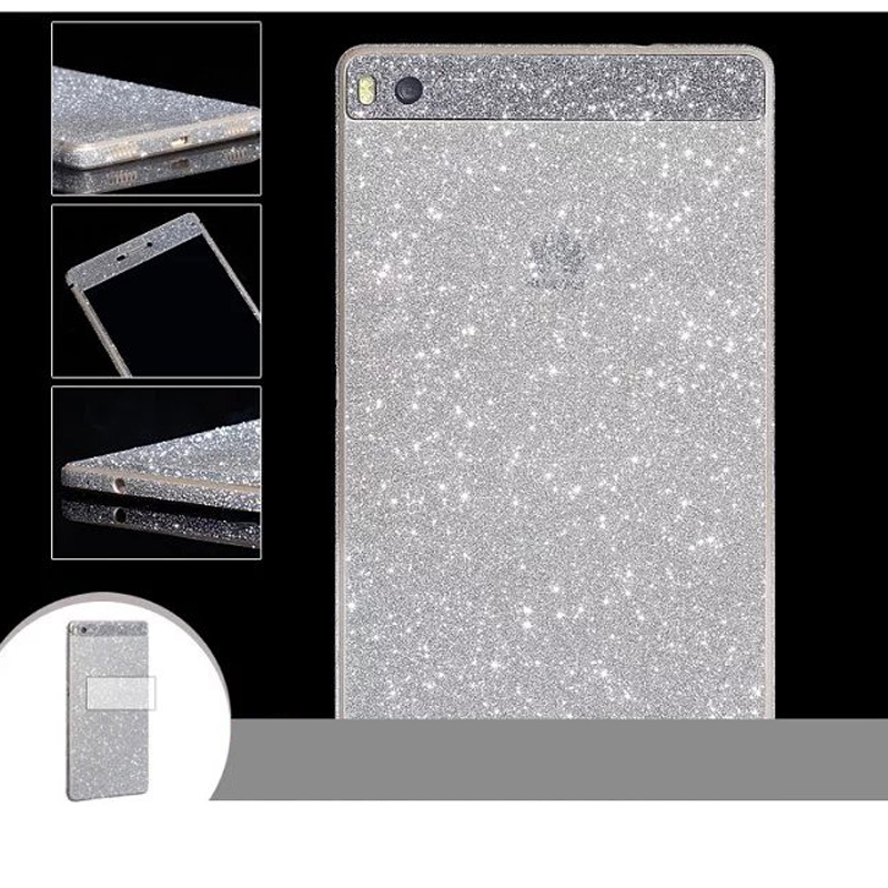Newest ! Sparkling rhinestone colourful sticker phone cases for Sumsung Galaxy A9 /A5 Full Body Glitter diamond Screen Protector(China (Mainland))