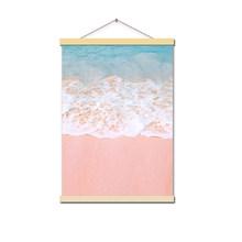 Картина на холсте, пляжный корабль, морская стена, искусство, скандинавские плакаты и принты, ананас, украшение дома, картины для гостиной(China)