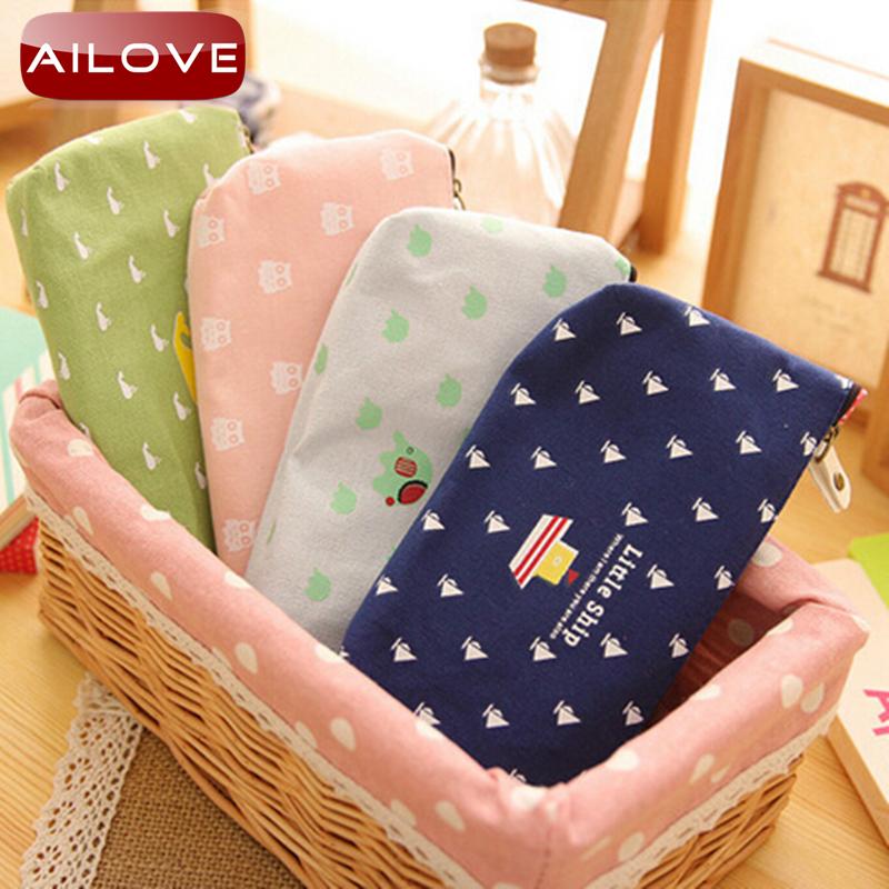 girl pencil bag case Children's gifts cartoon Cute pencil cases school material escolar school supplies big Capacity stationery(China (Mainland))