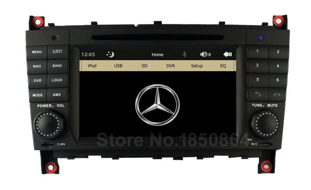 Original UI Car DVD Radio Player GPS for Mercedes/Benz W219 W203 C180 C200 C220 C230 C240 C250 W209 CLK200 CLK220 CLK240 CLK270(China (Mainland))