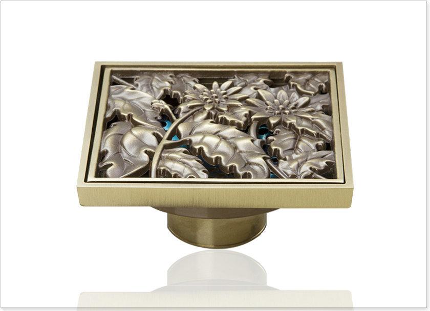lavatorio e pak Best Price Beautiful L5402 Antique Brass Gravity Flushing Construction Real Estate Bathroom Floor