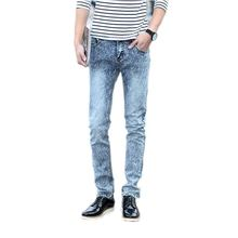 2015 male black skinny jeans men's clothing trend slim small trousers male casual trousers Large size 27-36(China (Mainland))