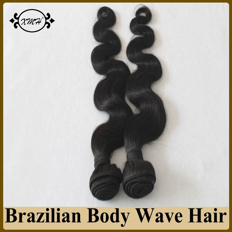 Brazilian Virgin Human Hair Weave 100g/piece Cheap Virgin Hair Bundles 6A Unprocessed Brazilian Hair Machine Weft 8-30Inches