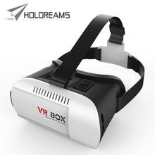 2015 Best Christmas Gift Universal Google Cardboard VR Box Virtual Reality 3D Video Glasses For iPhone 4.7″ – 6.0″ Smartphone